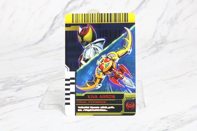 DXネオディケイドライバー レビュー ファイナルフォームライド カード FFR 仮面ライダーキバ キバアロー
