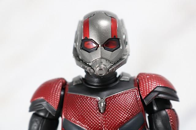 S.H.フィギュアーツ アントマン アベンジャーズ/エンドゲーム レビュー 付属品 マスク