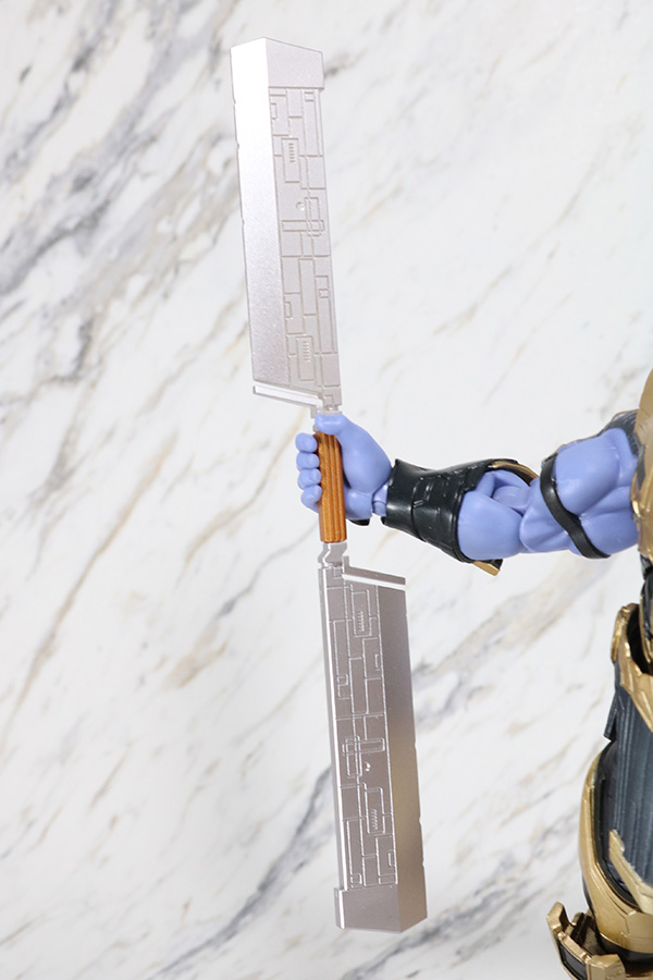 S.H.フィギュアーツ サノス アベンジャーズ/エンドゲーム レビュー 付属品 武器 大剣