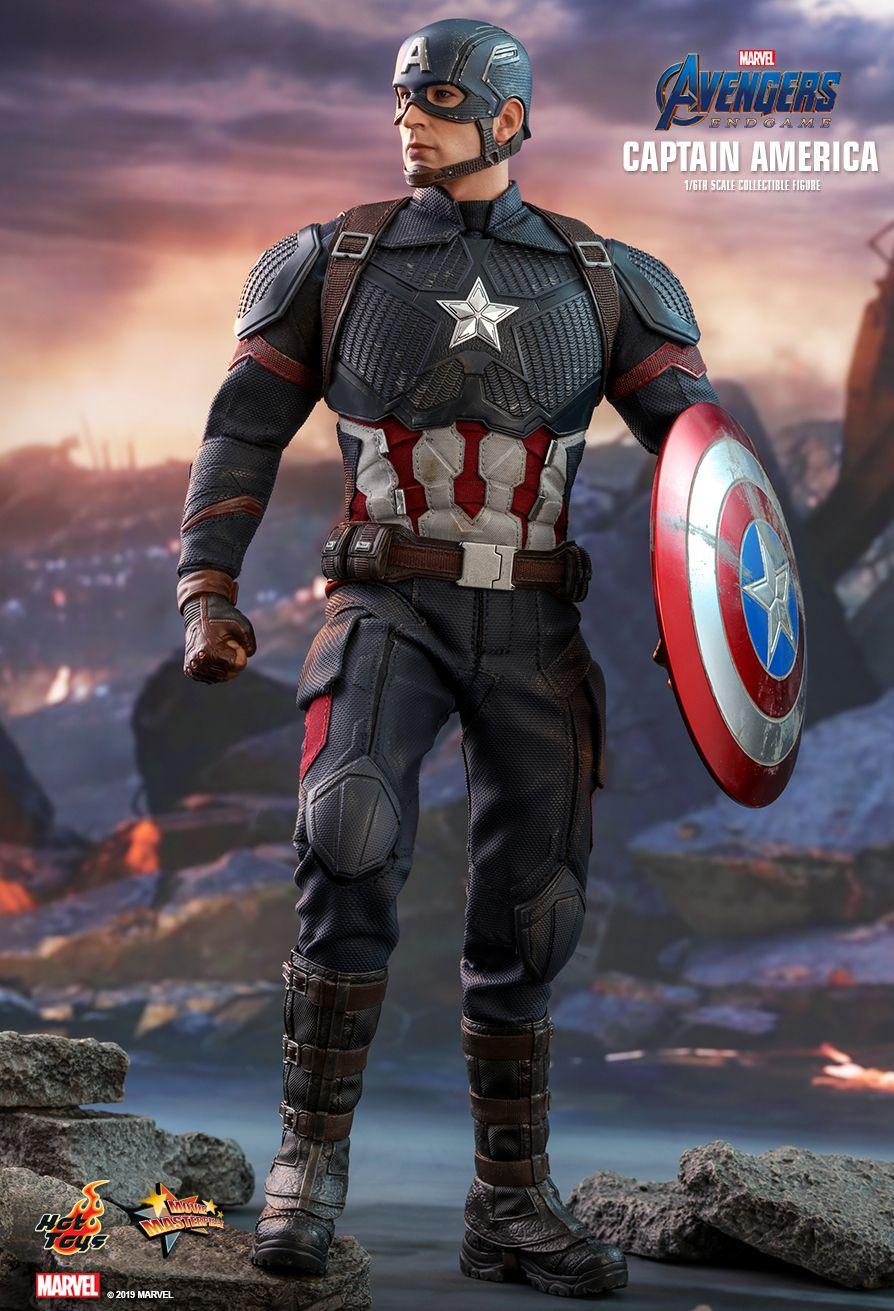ホットトイズ ムービーマスターピース キャプテンアメリカ アベンジャーズ/エンドゲーム