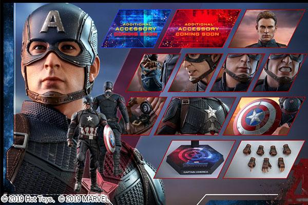 【予約開始】ホットトイズ新作!『エンドゲーム』版キャプテンアメリカが2020年に発売決定!