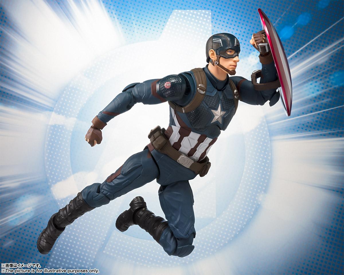 S.H.フィギュアーツ キャプテンアメリカ アベンジャーズ/エンドゲーム