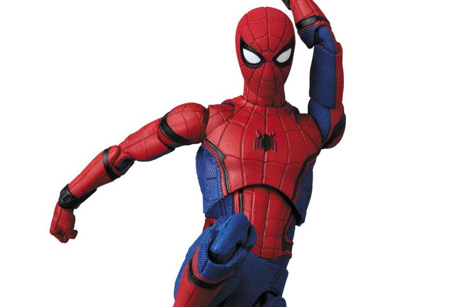 MAFEX新作!スパイダーマン ホームカミング版がVer.1.5になって2020年1月発売!新規頭部パーツもあり!