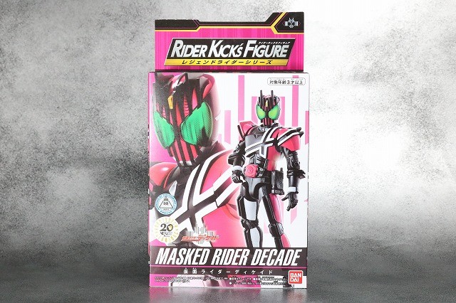 RKF RIDER KICK'S FIGURE 仮面ライダーディケイド ネオディケドライバー レビュー パッケージ