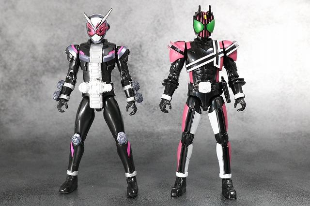 RKF RIDER KICK'S FIGURE 仮面ライダーディケイド レビュー 全身 ジオウ 比較