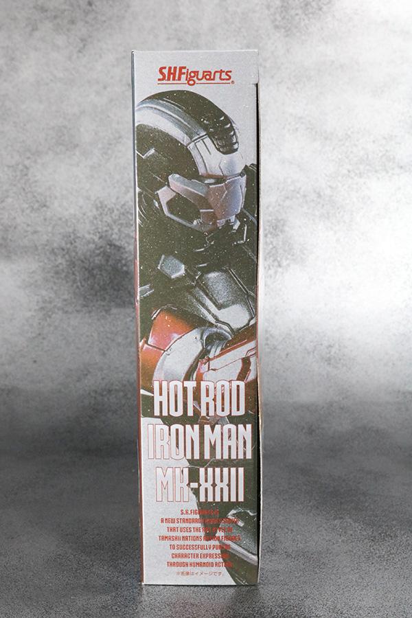 S.H.フィギュアーツ アイアンマン マーク22 ホットロッド レビュー パッケージ
