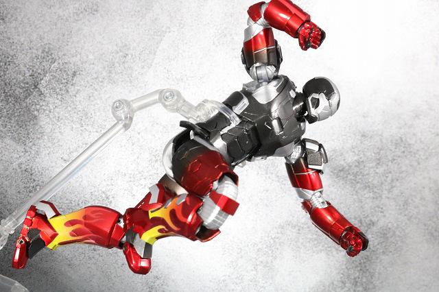 S.H.フィギュアーツ アイアンマン マーク22 ホットロッド レビュー アクション