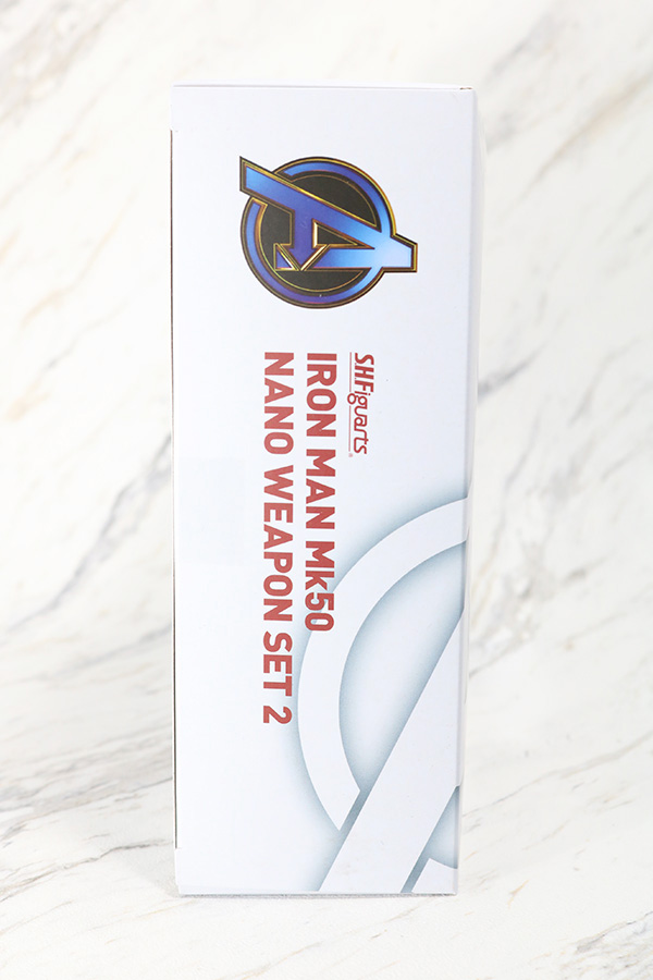 S.H.フィギュアーツ アイアンマン マーク50 ナノウエポンセット2 レビュー パッケージ