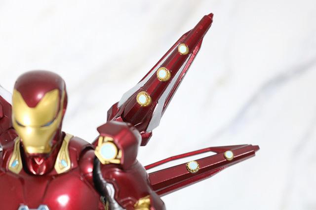 S.H.フィギュアーツ アイアンマン マーク50 ナノウエポンセット2 レビュー 全身 ヒトデ