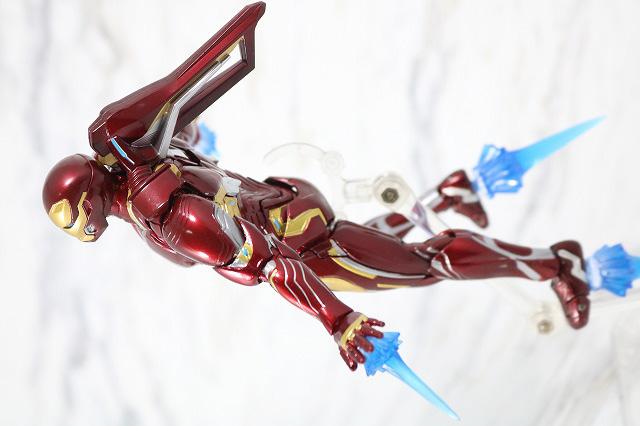 S.H.フィギュアーツ アイアンマン マーク50 ナノウエポンセット2 レビュー アクション