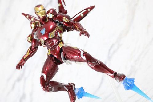 S.H.フィギュアーツ アイアンマン マーク50 ナノウエポンセット2 レビュー
