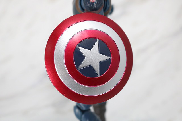 S.H.フィギュアーツ キャプテンアメリカ アベンジャーズ/エンドゲーム レビュー 付属品 シールド