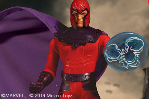 MEZCO新作!『X-MEN』からマグニートが発売決定!素顔頭部やエフェクトパーツが付属!