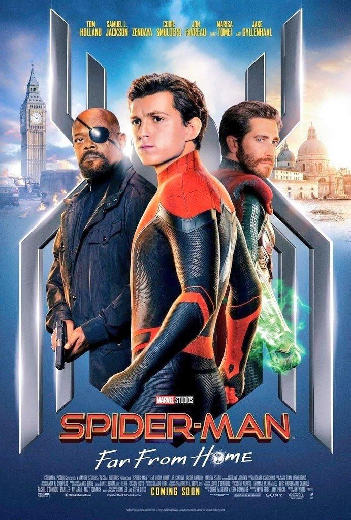 スパイダーマン:ファー・フロム・ホーム キャラ別ポスター