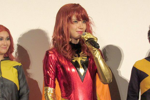 X-MEN:ダークフェニックス えなこ ガリットチュウ 福島 熊谷 TOHOシネマズ六本木 イベント