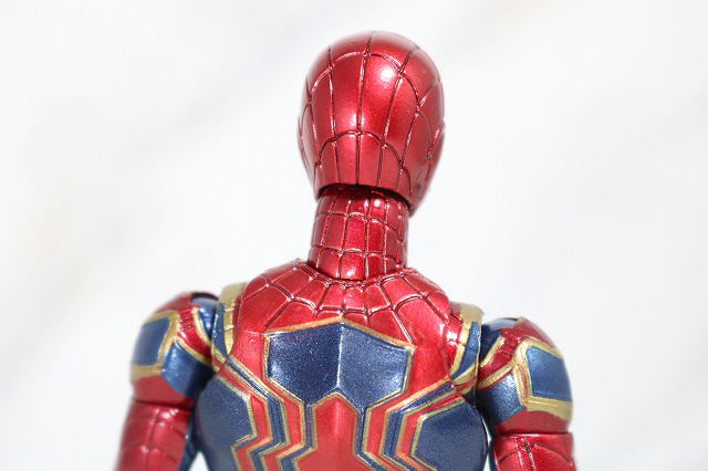 MAFEX アイアン スパイダーマン レビュー 全身 バストアップ