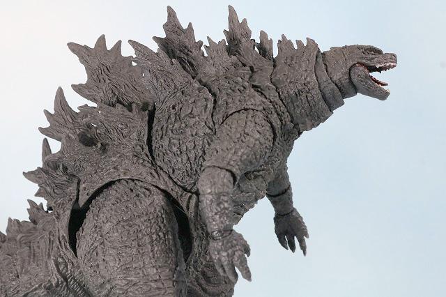 S.H.モンスターアーツ ゴジラ 2019 キング・オブ・モンスターズ レビュー アクション