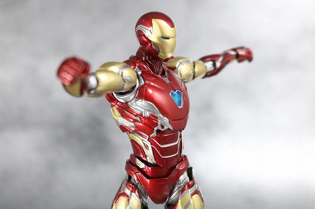 S.H.フィギュアーツ アイアンマン マーク85 レビュー 可動範囲 アベンジャーズ エンドゲーム