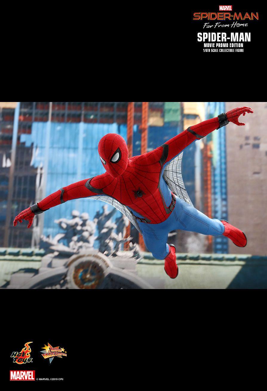 ホットトイズ ムービーマスターピース スパイダーマン ファー・フロム・ホーム ムービープロモエディション