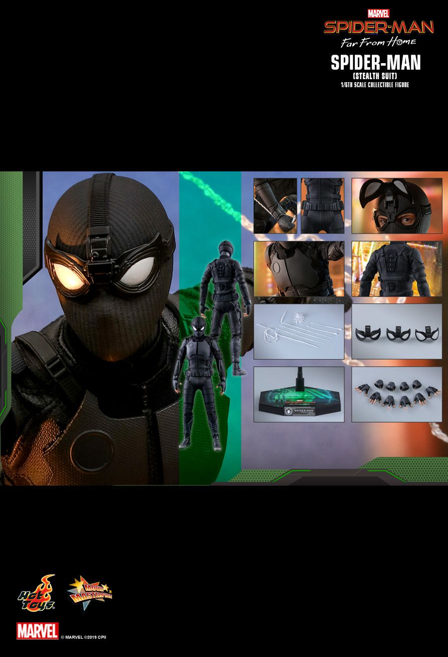 ホットトイズ ムービーマスターピース スパイダーマン:ファー・フロム・ホーム ステルススーツ