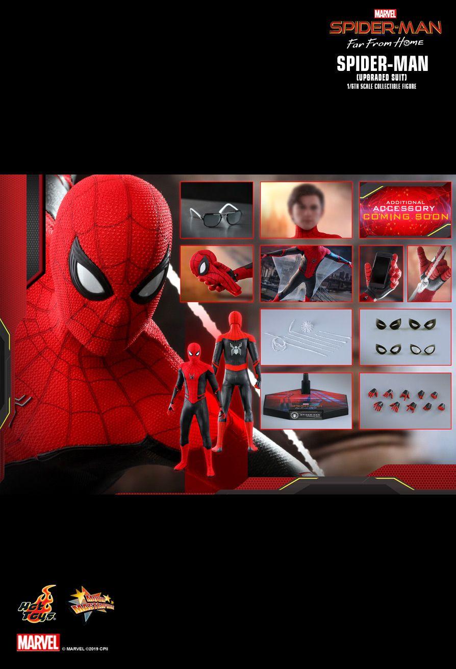 ホットトイズ ムービーマスターピース スパイダーマン アップグレードスーツ