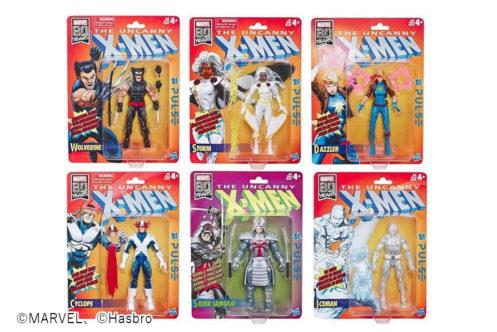 マーベルレジェンド新作!全6種!レトロ版『X-MEN』シリーズが発売決定!