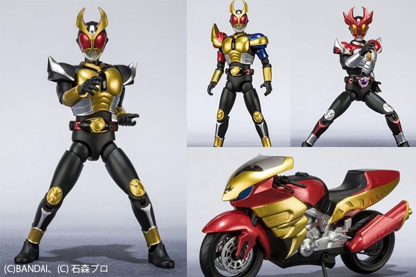 SHODO-X新作!第6弾は全部「仮面ライダーアギト」!トリニティ・シャイニング・トルネイダーも!