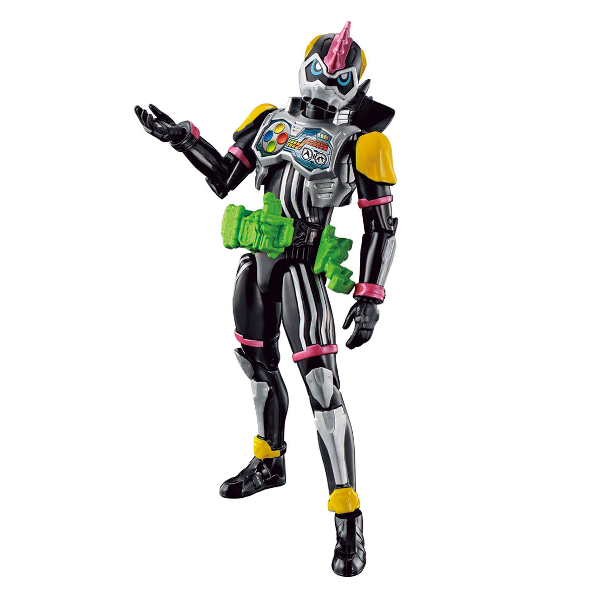 RKF RIDER KICK'S FIGURE 仮面ライダーレーザーターボ バイクゲーマー レベル0