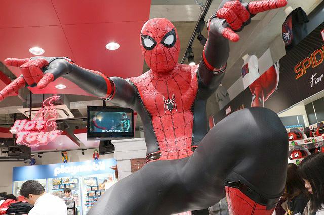 トイサピエンス 原宿 スパイダーマン ファー・フロム・ホーム エクスクルーシブ ジャパンツアー イベント レポート
