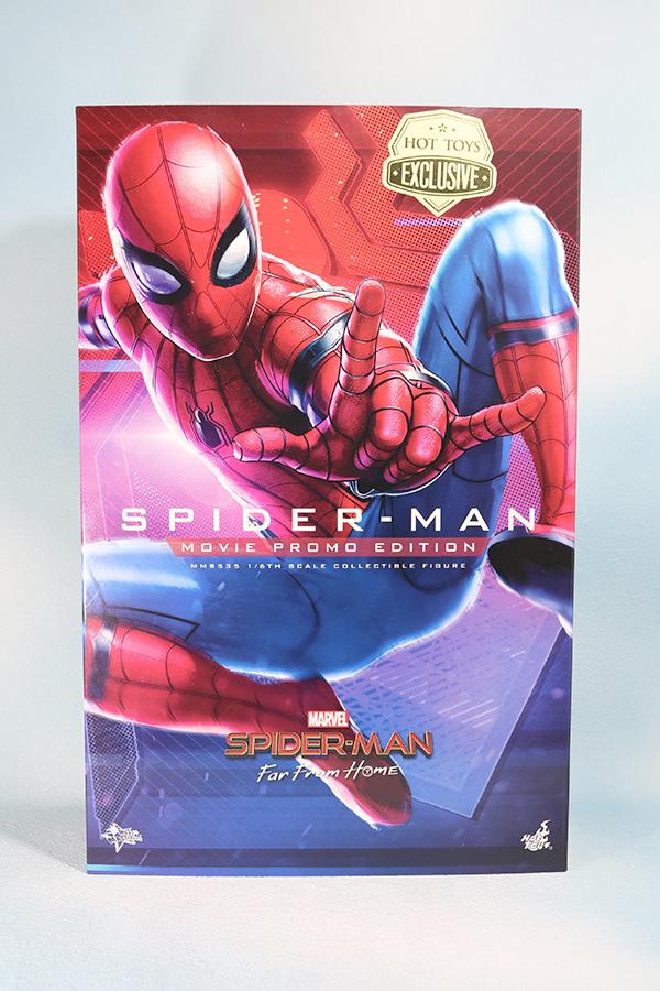 ホットトイズ ムービーマスターピース スパイダーマン ムービープロモエディション ホームカミング レビュー パッケージ