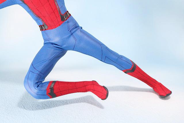 ホットトイズ ムービーマスターピース スパイダーマン ムービープロモエディション ホームカミング レビュー 可動範囲