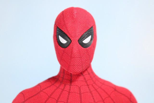 ホットトイズ ムービーマスターピース スパイダーマン ムービープロモエディション ホームカミング レビュー 付属品 交換用目パーツ