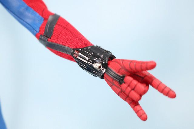 ホットトイズ ムービーマスターピース スパイダーマン ムービープロモエディション ホームカミング レビュー 付属品 ウェブシューター