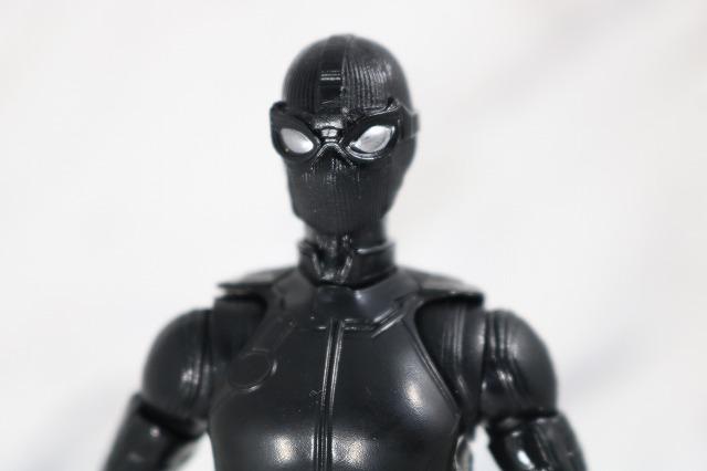 マーベルレジェンド スパイダーマン ステルスーツ レビュー 全身