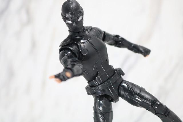 マーベルレジェンド スパイダーマン ステルスーツ レビュー アクション