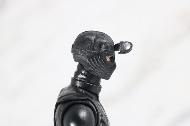 マーベルレジェンド スパイダーマン ステルスーツ レビュー 付属品 目 別頭部