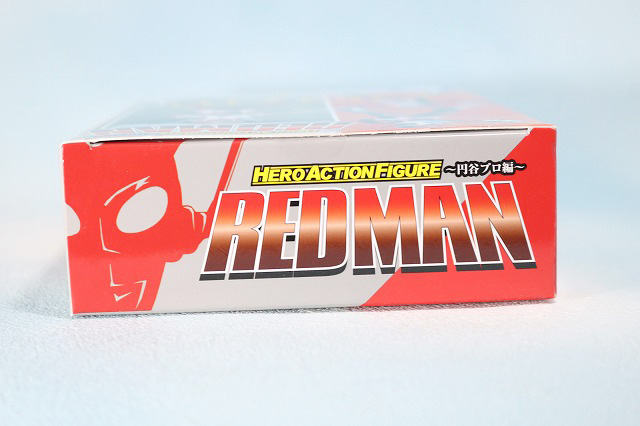 HAF HERO ACTION FIGURE レッドマン レビュー パッケージ