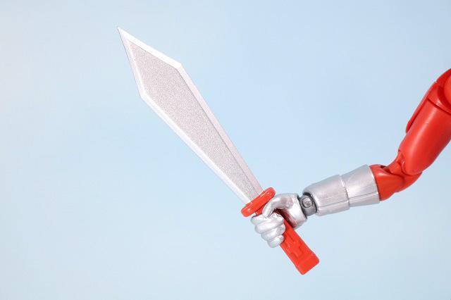 HAF HERO ACTION FIGURE レッドマン レビュー 付属品 レッドナイフ