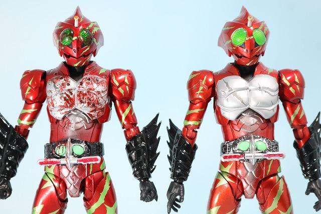 仮面ライダーアマゾンズ 最後ノ審判セット レビュー アマゾンアルファ 全身 比較