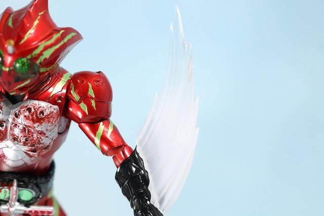 仮面ライダーアマゾンズ 最後ノ審判セット レビュー アマゾンアルファ 付属品 バイオレントスラッシュエフェクトパーツ