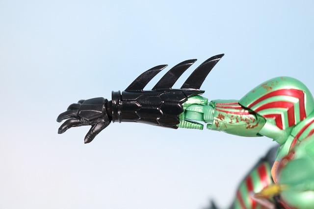 仮面ライダーアマゾンズ 最後ノ審判セット レビュー アマゾンオメガ 付属品 バイオレントパニッシュ用交換パーツ