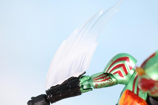 仮面ライダーアマゾンズ 最後ノ審判セット レビュー アマゾンオメガ 付属品 バイオレントパニッシュエフェクトパーツ
