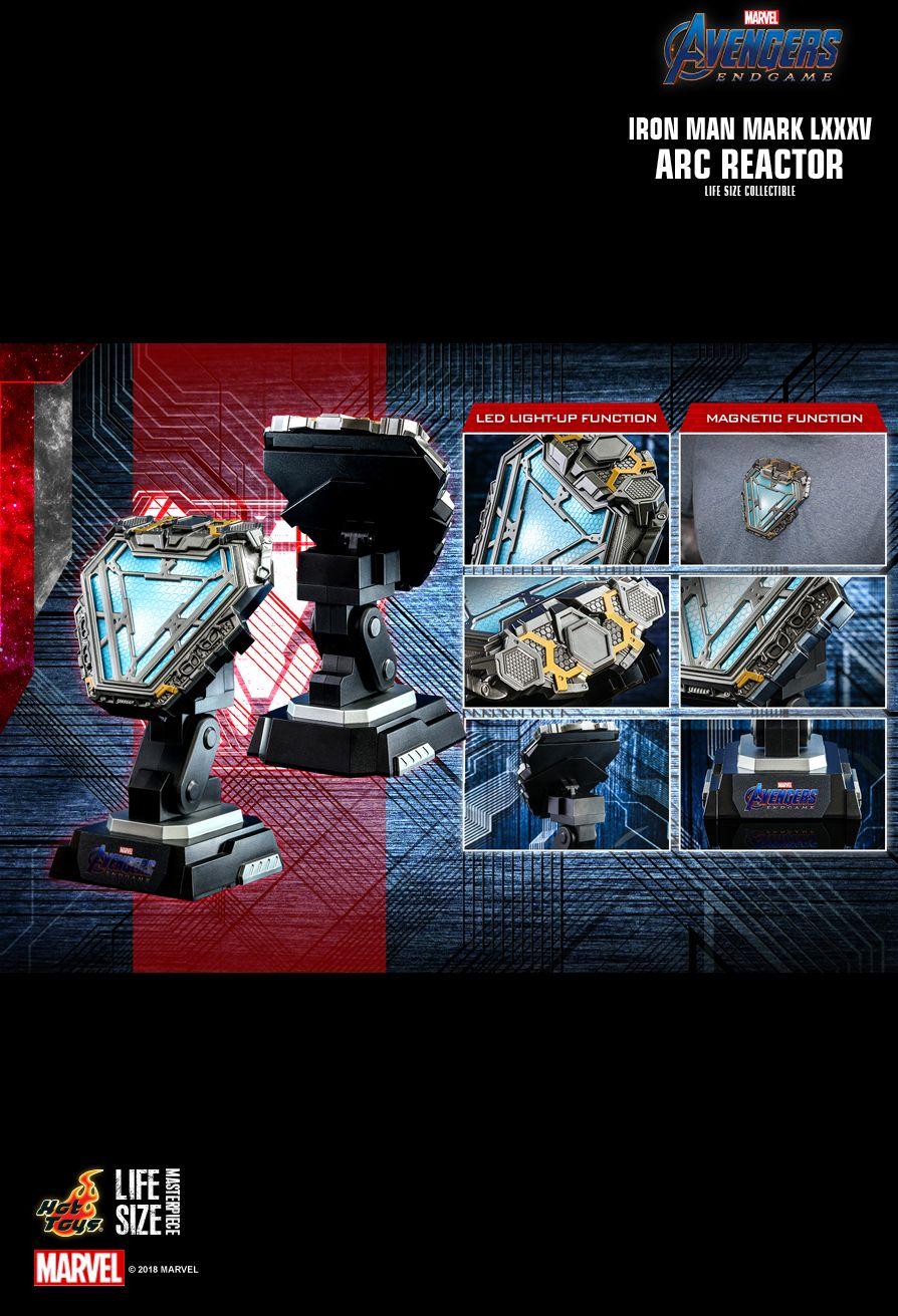 ホットトイズ ライフサイズマスターピース アークリアクター アイアンマン マーク85