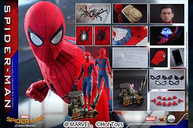 【予約開始】ホットトイズ新作!クォータースケール版スパイダーマンが2021年1月発売!DX版にはヴァルチャーの翼台座も!