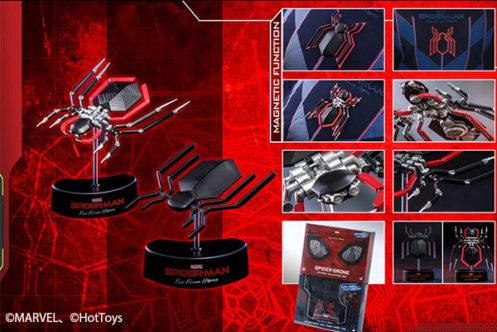 【予約開始】ホットトイズ新作!実物大「スパイダードローン」が2019年に発売!磁石で胸にも取り付け可能!