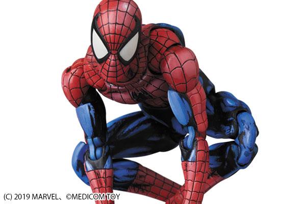 MAFEX新作!コミック・ペイント版スパイダーマンが2019年12月発売!リアルな陰影を再現!