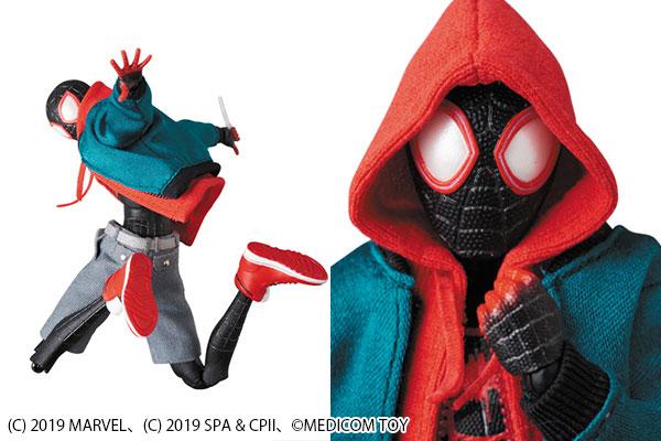 MAFEX新作!『スパイダーバース』のマイルズ・モラレスが2020年6月発売決定!服は布製で再現!