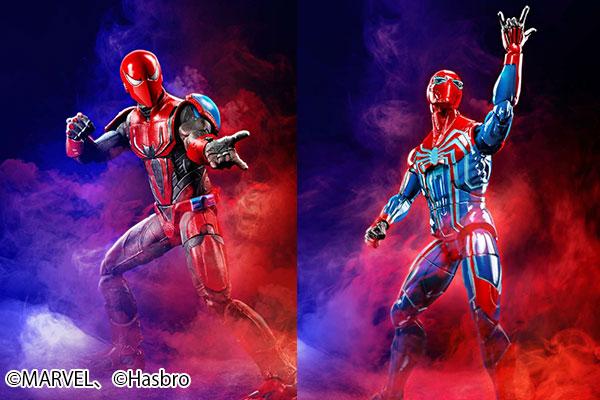 マーベルレジェンド新作!ゲームより「スパイダーマン マーク3」&「ベロシティースーツ」が発売!