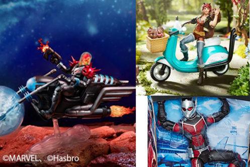 【画像追加】マーベルレジェンド新作!コズミックゴーストライダー、スクイレルガール、ジャイアントマンが登場!