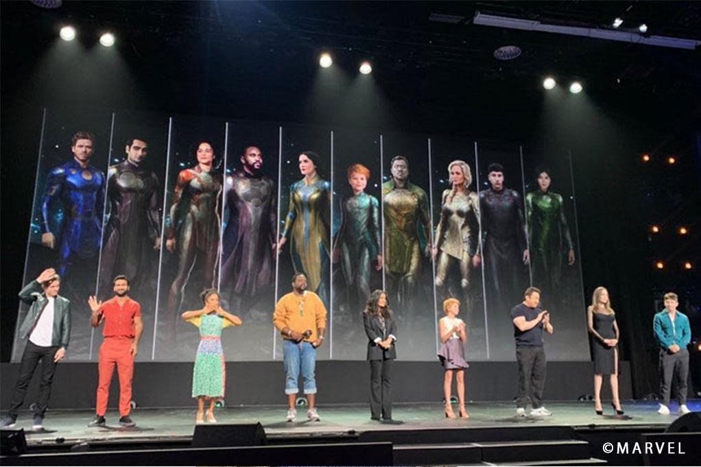 『エターナルズ』コンセプトアートが公開!主要キャラクターたちの衣装をいち早くチェック!